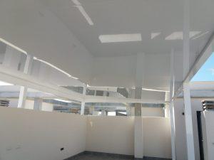 Pérgola La Santa de aluminio de alta resistencia de Aludrián Metálicas en Totana, Murcia.
